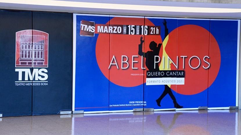 El Teatro Mercedes Sosa se prepara para recibir a Abel Pintos
