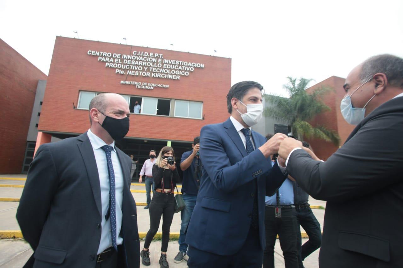 Nación destinará $2600 millones para obras en escuelas tucumanas -  Comunicación Tucumán